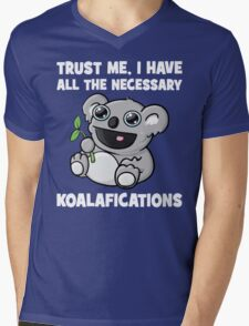 Trust Me, I Have All The Necessary Koalafications Mens V-Neck T-Shirt
