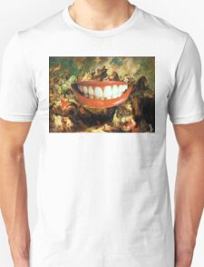Behind Her Smile Unisex T-Shirt