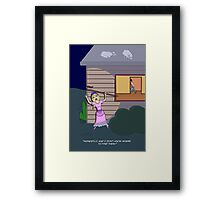 Little Bo-Peep (in search of sheep) Framed Print