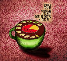 What my #Coffee says to me - July 9, 2012 Pillow by catsinthebag