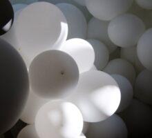 White Balloon Sticker