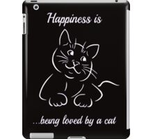 HAPPINESS A C-A-T iPad Case/Skin