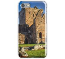 Sweetheart Abbey, New Abbey, Dumfries and Galloway Photo iPhone Case/Skin