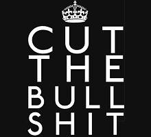 CUT THE BULLSHIT Women's Fitted Scoop T-Shirt