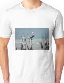 Pelican Perch Unisex T-Shirt