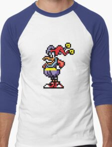 QUACKERJACK Men's Baseball ¾ T-Shirt