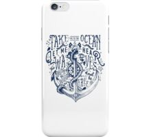 OCEAN IS CALLING iPhone Case/Skin