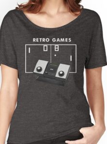 Retro Games Pong Women's Relaxed Fit T-Shirt