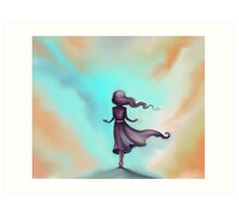 Blue Sky Escape - Dreams Art Print
