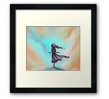 Blue Sky Escape - Dreams Framed Print