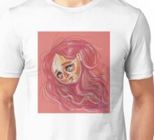 Floating Red Head Unisex T-Shirt