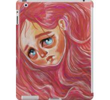 Floating Red Head iPad Case/Skin