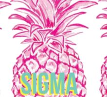 Pineapple Alpha Sigma Tau Sticker