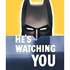 Batman - He's Watching You by artbyabc