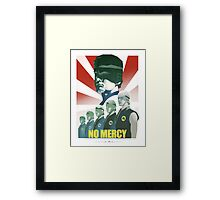 "Karate Kid - Cobra Kai ""NO MERCY"" Framed Print"