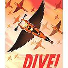 """Flash Gordon - Prince Vultan """"HAWKMEN DIVE!"""" by artbyabc"""