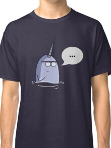 The Nothing Narwhal Classic T-Shirt