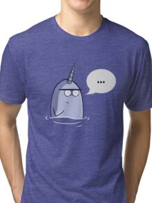 The Nothing Narwhal Tri-blend T-Shirt