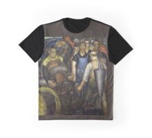 Hard Labor - Charles Wells Mural - The New Deal Graphic T-Shirt