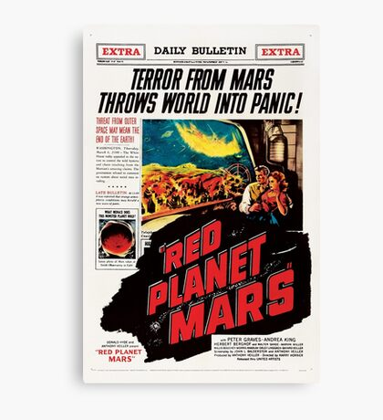 Red Planet Mars! Canvas Print