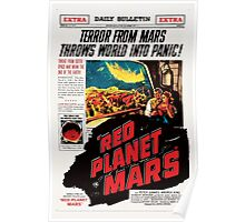 Red Planet Mars! Poster