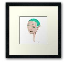 The Elf Framed Print