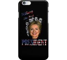 Hillary Clinton for President iPhone Case/Skin