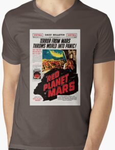 Red Planet Mars! Mens V-Neck T-Shirt