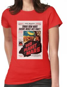 Red Planet Mars! Womens Fitted T-Shirt