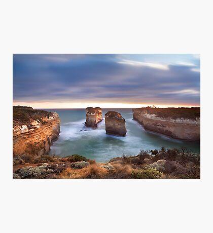 Loch Ard Gorge - Port Campbell, Victoria, Australia, Sunset Photographic Print