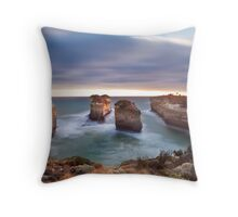 Loch Ard Gorge - Port Campbell, Victoria, Australia, Sunset Throw Pillow
