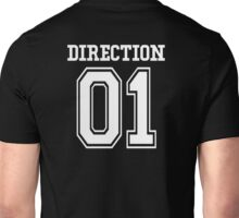 One Direction Fan Jersey (White) Unisex T-Shirt