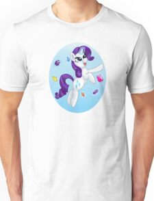 Flying Friendship- Rarity Unisex T-Shirt