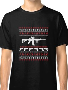 AR 15 Ugly Christmas Sweater Classic T-Shirt
