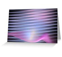 Lavender Petal Greeting Card