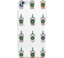 Starbucks Watercolor Frap iPhone Case/Skin