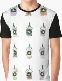 Starbucks Watercolor Frap Graphic T-Shirt