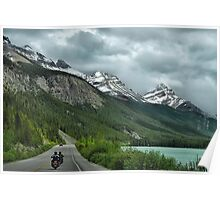 Cycling Through Canada Poster