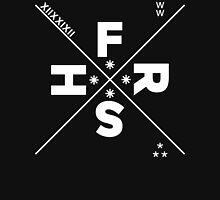 FRXSH STAR XIIXXIXII [White]   FRESH THREADS Men's Baseball ¾ T-Shirt