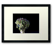 Broccoli People Framed Print