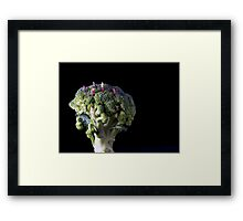 Broccoli People Framed Print