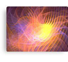 Sunrise Lotus Canvas Print