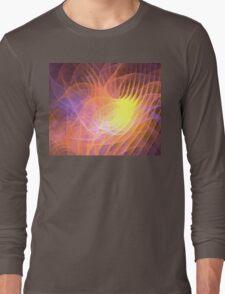Sunrise Lotus Long Sleeve T-Shirt