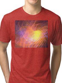 Sunrise Lotus Tri-blend T-Shirt