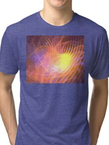 Sunrise Lotus Tri-blend T-Shirt