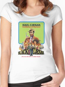 Black Caesar Women's Fitted Scoop T-Shirt