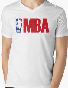 mba Mens V-Neck T-Shirt