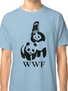 wwf panda wrestling Classic T-Shirt