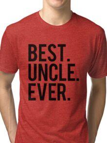 Best Uncle Tri-blend T-Shirt