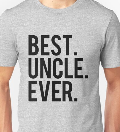 Best Uncle Unisex T-Shirt